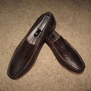 Cole Haan Mens Loafers - 10 1/2 Brown